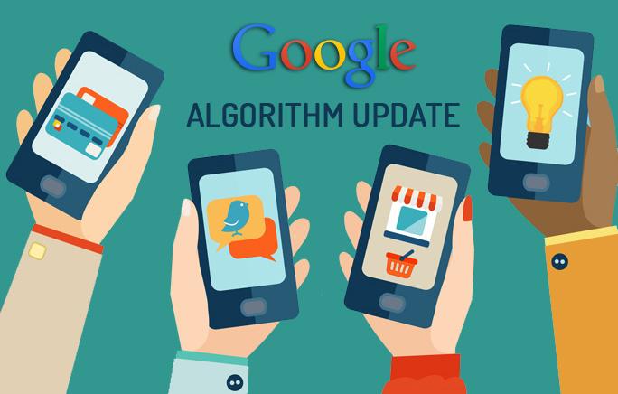 Google Algorithm Update Ilustration