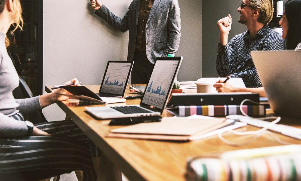 Boardroom Marketing Meeting
